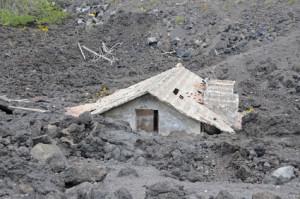 Gefahren für ein Wohngebäude