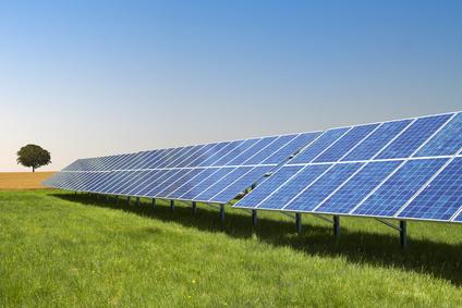 Solaranlagen zur Förderung von Ökostrom